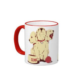 Cute Cerberus Cartoon Coffee Mug