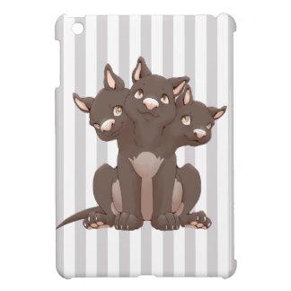 Cute cerberus puppy iPad mini cover