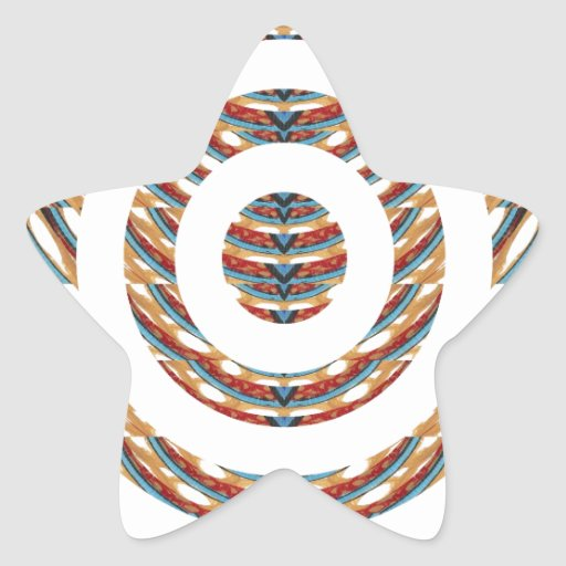 CUTE CHAKRA  Multiple Circle Pattern  LOWPRICE STR Stickers