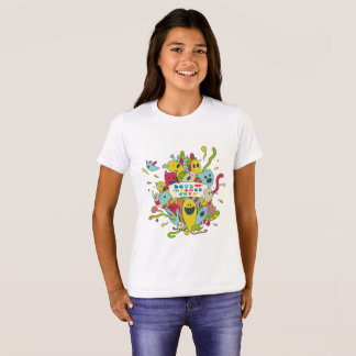 Cute characters with positive message /t-shirts T-Shirt