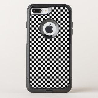 Cute Checkerboard Design OtterBox Commuter iPhone 8 Plus/7 Plus Case