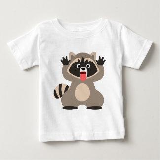 Cute Cheeky Cartoon Raccoon Baby T-Sh Baby T-Shirt