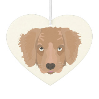 Cute cheeky Puppy Car Air Freshener