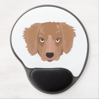 Cute cheeky Puppy Gel Mouse Pad