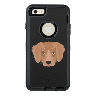 Cute cheeky Puppy OtterBox Defender iPhone Case