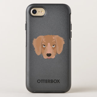 Cute cheeky Puppy OtterBox Symmetry iPhone 8/7 Case