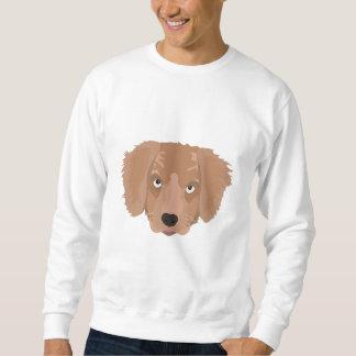 Cute cheeky Puppy Sweatshirt