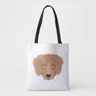 Cute cheeky Puppy Tote Bag