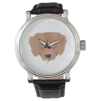 Cute cheeky Puppy Wristwatches