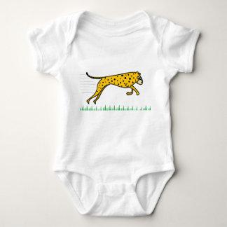 Cute Cheetah Babygrow Baby Bodysuit