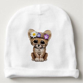 Cute Cheetah Cub Hippie Baby Beanie