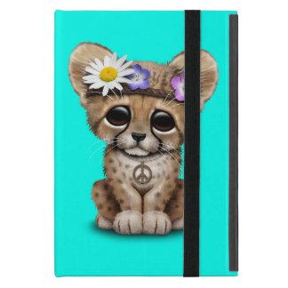 Cute Cheetah Cub Hippie iPad Mini Cover