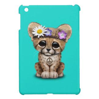 Cute Cheetah Cub Hippie iPad Mini Covers