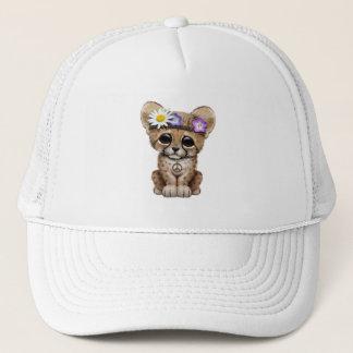 Cute Cheetah Cub Hippie Trucker Hat