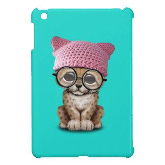 Cute Cheetah Cub Wearing Pussy Hat iPad Mini Case