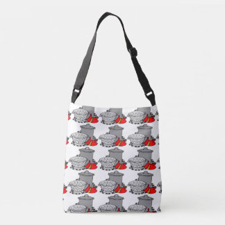 Cute Chef Style Bag featuring a Pot and Strainer