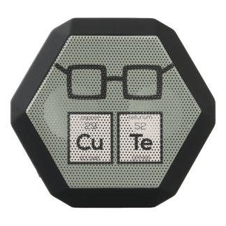 Cute chemical Element Nerd Glasses Zwp34 Black Bluetooth Speaker