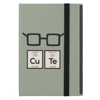 Cute chemical Element Nerd Glasses Zwp34 Case For iPad Mini