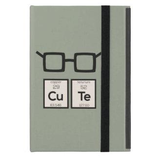 Cute chemical Element Nerd Glasses Zwp34 iPad Mini Case