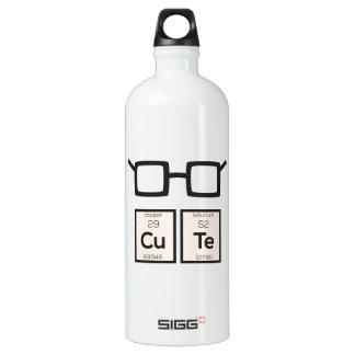 Cute chemical Element Nerd Glasses Zwp34 SIGG Traveller 1.0L Water Bottle