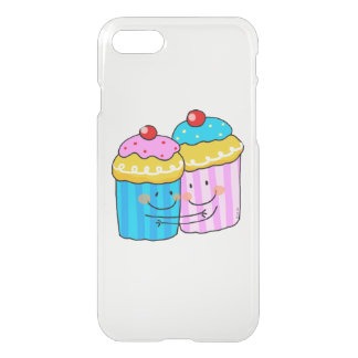 cute cherry cupcakes best friends iPhone 7 case