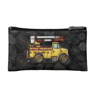 Cute Cherry Picker Truck Makeup Bag
