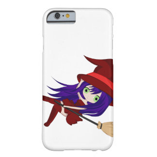 Cute Chibi Falling Witch Barely There iPhone 6 Case