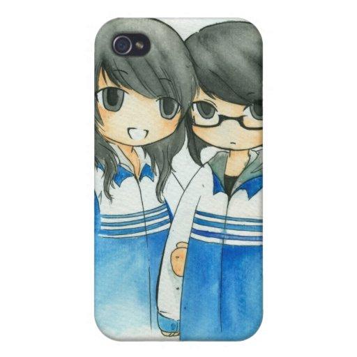 Cute Chibi Iphone 4 case