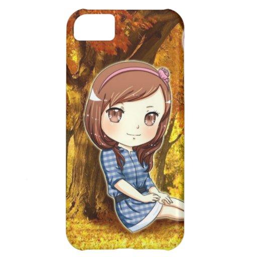 Cute chibi iphone 5 case