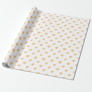 Cute Chick Baby Shower Wrapping Paper