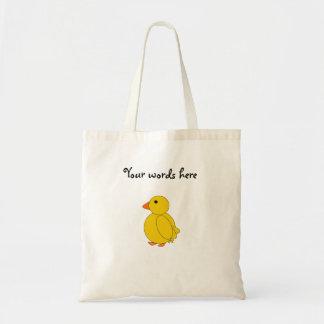 Cute chickadee tote bag