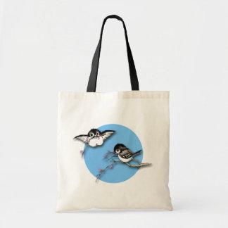 Cute Chickadees Tote Bag