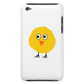 Cute chicken cartoon barely there iPod case