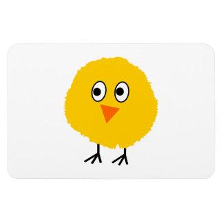 Cute chicken cartoon rectangular photo magnet