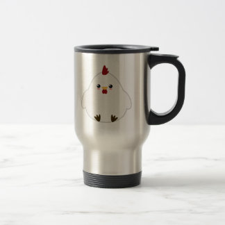 Cute Chicken Travel Mug