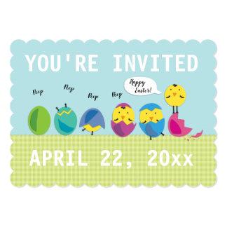 Cute Chicks Easter Egg Hunt Invitation