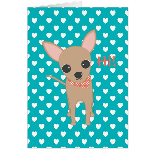 Cute Chihuahua Card