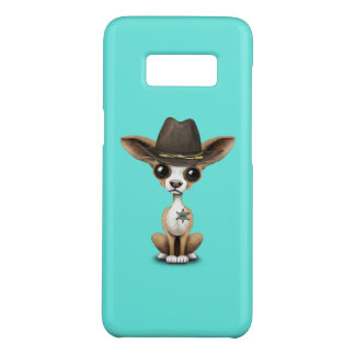 Cute Chihuahua Puppy Sheriff Case-Mate Samsung Galaxy S8 Case