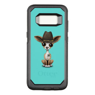 Cute Chihuahua Puppy Sheriff OtterBox Commuter Samsung Galaxy S8 Case