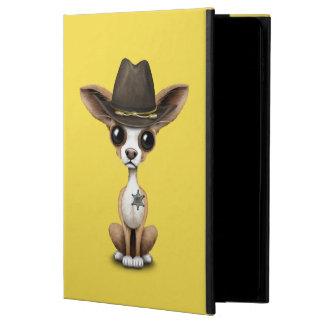 Cute Chihuahua Puppy Sheriff Powis iPad Air 2 Case