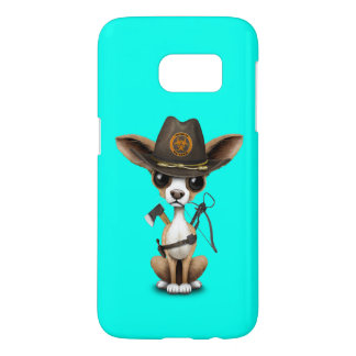 Cute Chihuahua Puppy Zombie Hunter