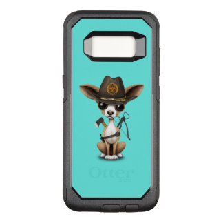 Cute Chihuahua Puppy Zombie Hunter OtterBox Commuter Samsung Galaxy S8 Case