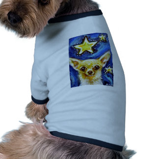 Cute Chihuahua Starry Night Dog Clothing