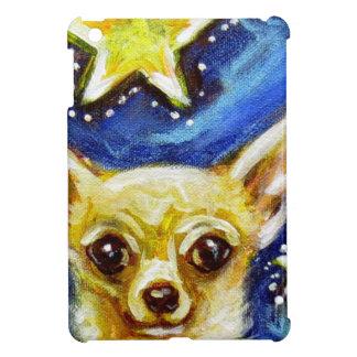 Cute Chihuahua Starry Night iPad Mini Cover