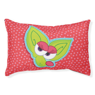 Cute Chikis  chihuahua girl cartoon pet bed cherry