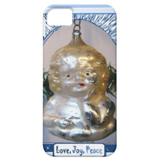Cute child decoration, Love Joy Peace Barely There iPhone 5 Case