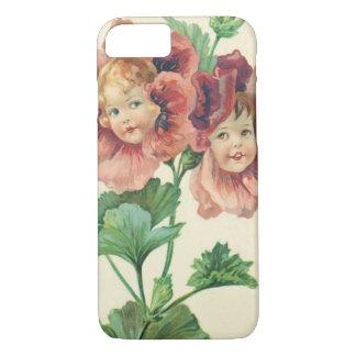 Cute Children Red Carnation iPhone 7 Case
