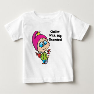 Cute Chillin With My Gnomes Design T Shirts