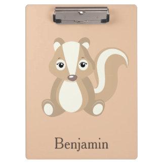 Cute Chipmunk Clipboard