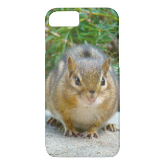 Cute Chipmunk Has His Eye On You iPhone 8/7 Case